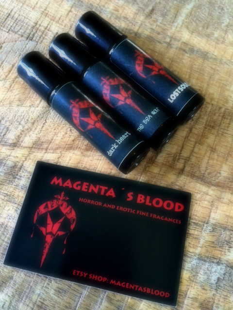 Magenta's Blood Perfume Review