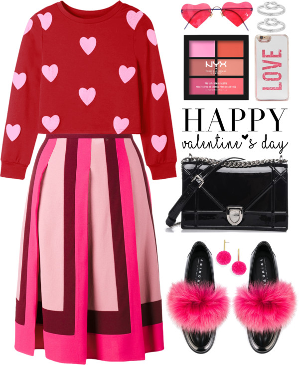 Happy Valentine's DayLook😘💖💖